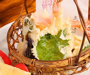 サムネ季節の天ぷら